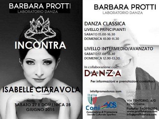 Barbara Protti Laboratorio Danza, Como, Italy)