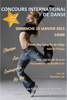 Concours International de Danse (Liege, Belgium)
