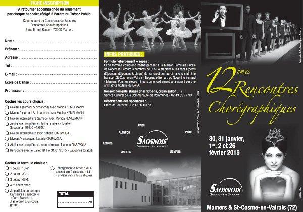 12èmes Rencontres Chorégraphiques (Saosnois, France)
